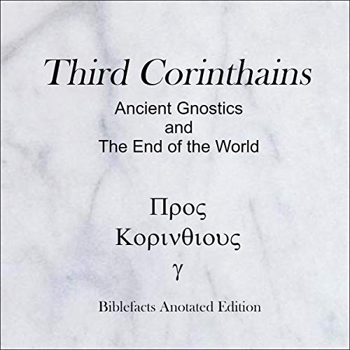 『Third Corinthians: Ancient Gnostics and the End of the World』のカバーアート