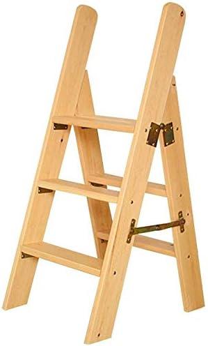 LYRR Wooden Step Ladders Folding Sale item Solid Stool Multi-F Ladder Japan Maker New Wood