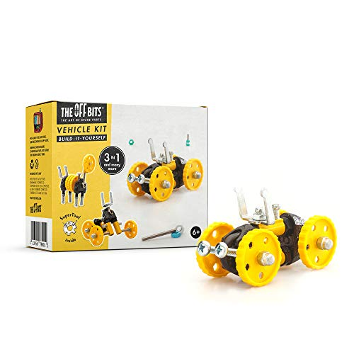Fat Brain Toys OffBits Yellow Vehicle