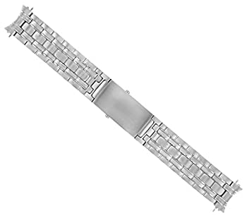 Watch Band Stainless Steel Compatible with Omega Seamaster Brush Finish Bracelet 20mm Heavy