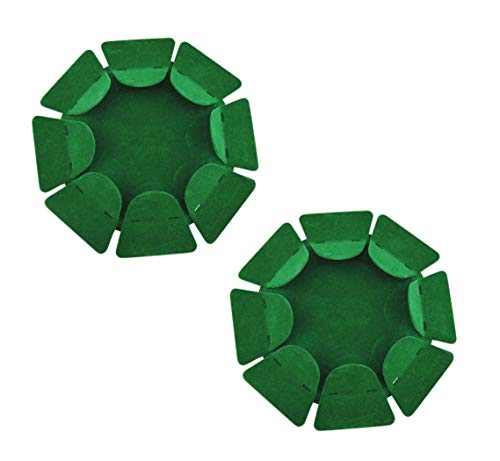 2 Pack Golf Putting Cup All-Direction Golf Practice Hole Golf Putting Cup Indoor Surface Flocking for Office Outdoor