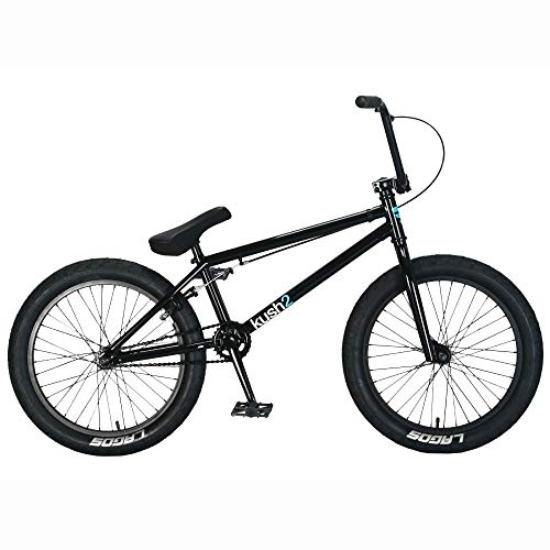 Mafiabikes Kush 2 20 inch BMX Bike Black Boys and Girls Bicycle