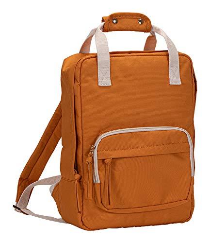 SIX Komfortabler Rucksack mit Mehreren Reißverschlussfächern, Griff und verstellbaren Schulterriemen (539-300)