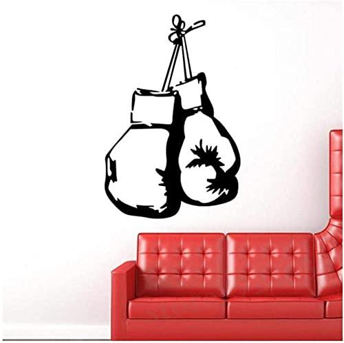 Boxhandschuhe Fighting Sports Wandaufkleber Home Decor Living Wandbild Aufkleber Aufkleber Wallpaper Boy Schlafzimmer Home Art Dekoration 40X60Cm