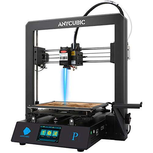 ANYCUBIC Mega Pro 4th Gen FDM 3 In One 3D Printer Laser Engraver with Smart Auxiliary Leveling, Printing Size 8.27''...