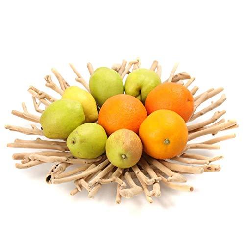 LIYUHOUZUONC Frutero Cesta de Fruta Frutero de Estar Cuarto de Madera Plato de Frutas secas decoración Plato de Fruta de Madera café Retro Bandeja Europea Tabla