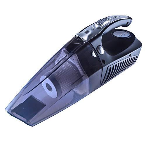 ZXZXZX Aspirapolvere Auto, Aspirapolvere con Monitoraggio della Pressione dei Pneumatici/Illuminazione/Gonfiaggio/capacità di Assorbimento, La Scelta Migliore per la Pulizia