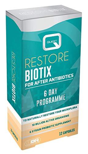 Quest Restore Biotix - for After antibiotix 12 Capsules