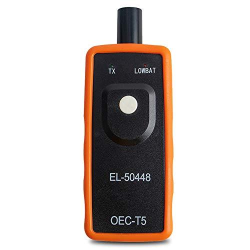 MOPOIN RDKS Anlerngerät, Anlernsystem Reifenventilaktivator, TPMS Reifendrucksensor Reifendruck Kontrollsysteme für Reifendruckkontrollsystem,Anlerngerät Reifendruck EL-50448 für OPEL GM (Orange)