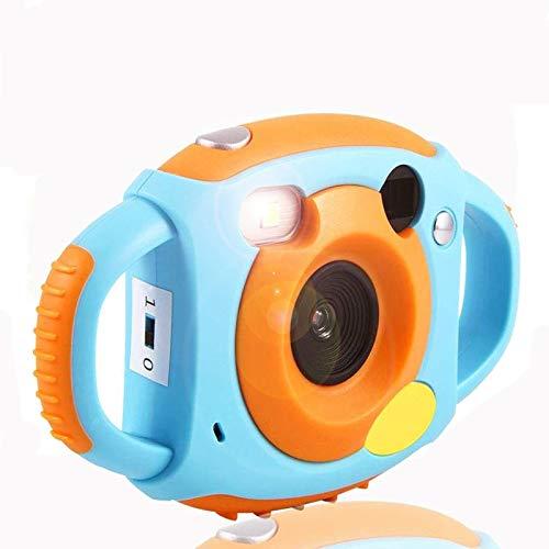 Topiky Fotocamera Digitale per Bambini, videocamera HD da 1,8 Pollici con 4 filtri 5 Supporto Mega-Pixel Scheda Mini SD da 32 GB Regalo Meraviglioso per Bambini (Blu)