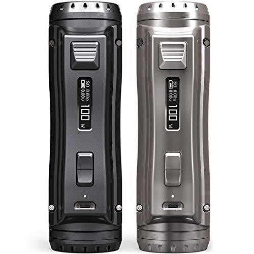 EhPro Cold Steel 100 120W TC Box Mod Akkuträger Farbe Grau