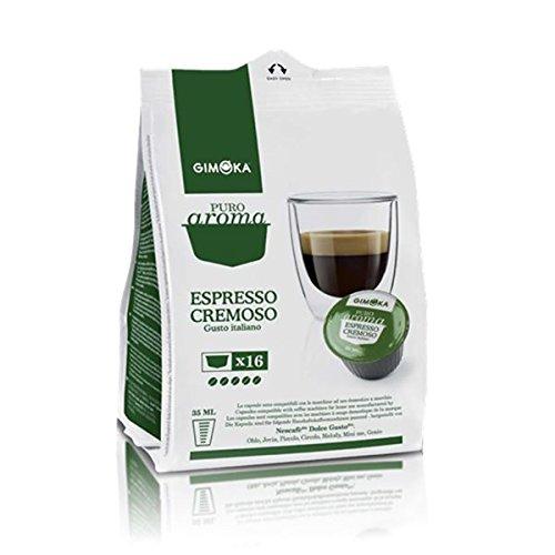 160 Cialde Capsule Compatibili Nescafe' Dolce Gusto Gimoka Espresso Cremoso