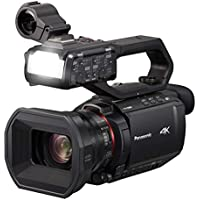 Panasonic AG-CX10 4K Ultra HD SDXC/SDHC/SD Wi-Fi Professional Camcorder with 24x Optical Zoom & 3.5