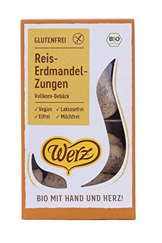 Werz Bio Reis-Erdmandel-Zungen (6 x 100 gr)