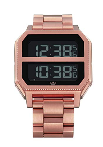 Adidas Watches Archive_MR2. Black Stainless Steel, 22mm Band Width (41mm Case) - All Gunmetal