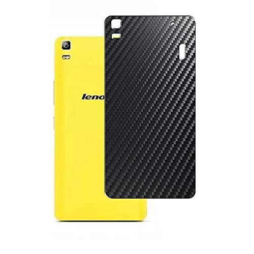 VacFun 2 Piezas Protector de pantalla Posterior, compatible con Lenovo K3 Note K50 (K50-T5), Película de Trasera de Fibra de carbono negra Skin Piel