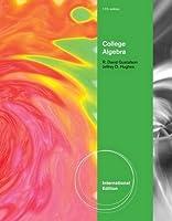 College Algebra, International Edition by Jeff Hughes R. Gustafson(2012-01-10)