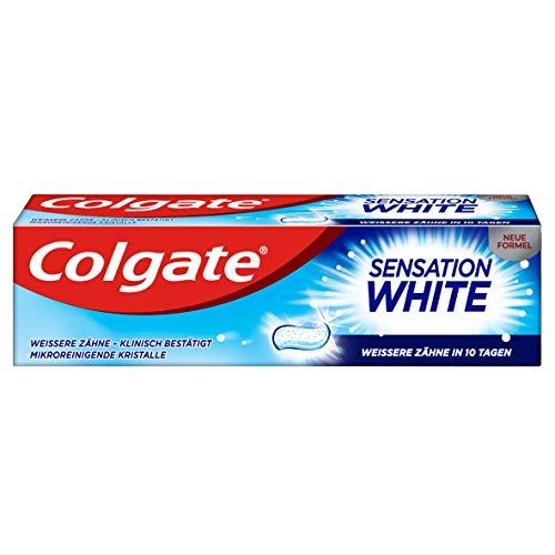 Colgate Sensation White Zahnpasta, 12er Pack (12 x 75 ml)