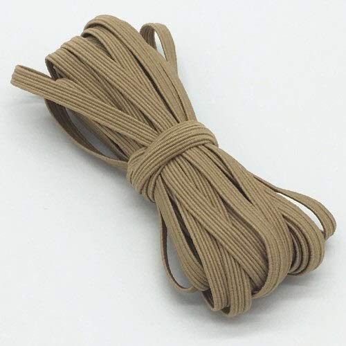 6mm Colorful High-elastic Elastic Bands Rope Rubber Band Line Spandex Ribbon NEW