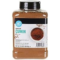Amazon Brand Happy Belly Cumin Ground, 16 Ounce