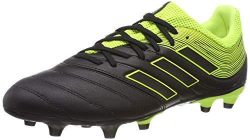 adidas Herren Copa 19.3 FG Fußballschuhe ,Schwarz (Solar Yellow/Core Black), 42 2/3 EU