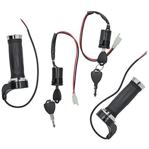 Interruptor de encendido de vehículo eléctrico, empuñadura del acelerador de cable corto...