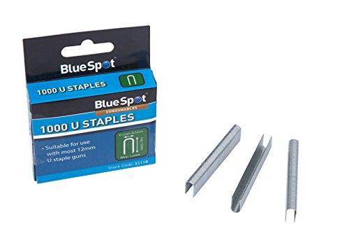 Blue Spot Tools 35118rund Krone T25Heftklammern, silber