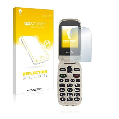 upscreen Entspiegelungs-Schutzfolie kompatibel mit Doro 6030 – Anti-Reflex Bildschirmschutz-Folie Matt