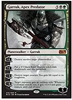 Magic: The Gathering - Garruk, Apex Predator (210/269) - Magic 2015
