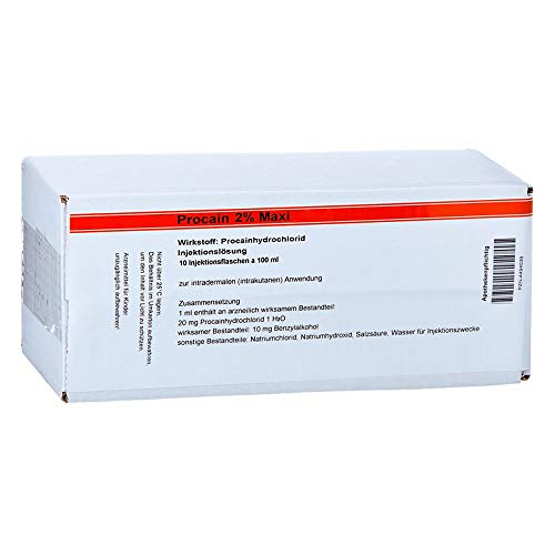 PROCAIN Röwo 2% Maxi Injektionsflaschen 1000 ml Injektionsflaschen