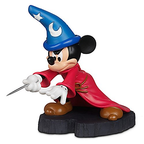 Price comparison product image Disney Parks Sorcerer Mickey Mouse Light Up Figurine Statue NEW