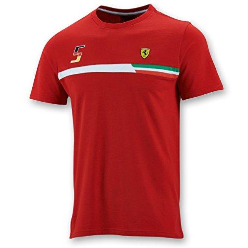 FERRARI F1–Camiseta para Hombre, Todo el año, Hombre, Color Rojo - Rojo, tamaño XX-Large