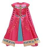 EMIN Aladdin - Costume da donna per bambina, costume da principessa, danza del ventre, Natale, Halloween, carnevale, feste, taglia