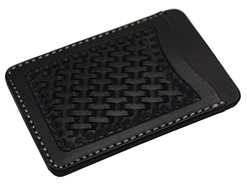 KC,s Leather Craft - Funda de abono de transporte unisex adulto Negro...