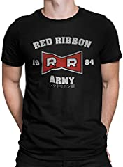 2236-Camiseta Premium, Red Ribbon Army (Melonseta)