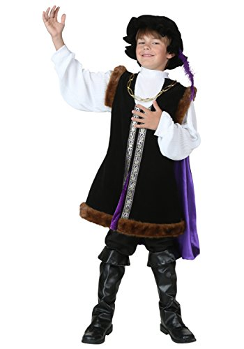 Kid's Renaissance Man Costume Renaissance Outfit for Boys X-Large