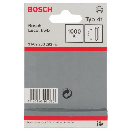 Bosch Professional 2609200292 Nails, Silver, 14 mm, Set of 1000 Pieces