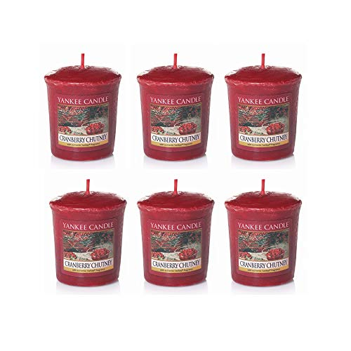 Cranberry Chutney Yankee Candle Votives (6 pack)