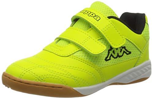 Kappa Unisex Kinder Kickoff Sneaker, Grün (Green Black 3011), 40