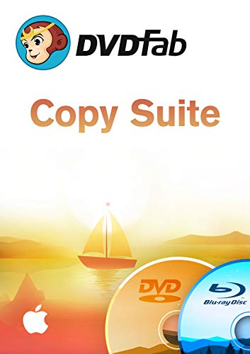 DVD Copy Suite ( Blu-Ray+DVD Copy) MAC-Lifetime Lizenz (Product Keycard ohne Datenträger)