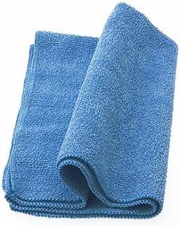 Micro Solution クリーニングクロス・超極細繊維マイクロファイバー DRY&WET w400mm x d300mm ブルー・WIPING CLOTH #201 徳用2枚入り・WC201MC