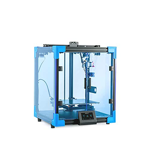 Aibecy 3D Printer DIY Kit 3 Times Faster Print Speed Print Size 250 * 250 * 400mm Stable Core-XY Structure with 4.3 Inch Color Touchscreen 8G SD Card PLA Sample Filament 500g