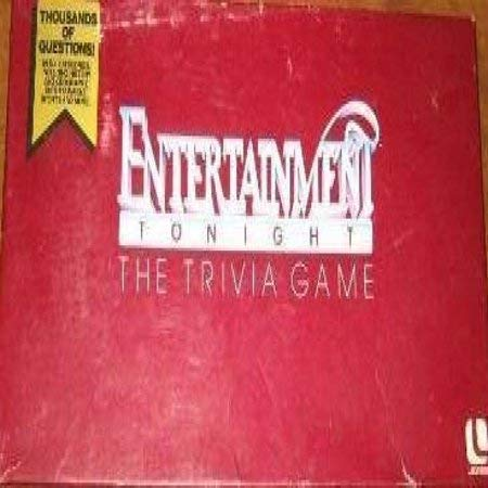 Entertainment Tonight Trivia Game
