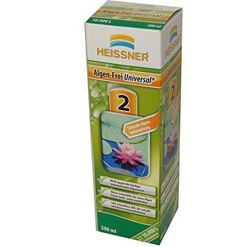 HEISSNER TZ724-00 Algen-frei Universal 500 ml für 10000 L