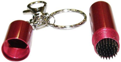 Iszy Billiards Pool Cue Billiard Stick Tip Tool Pick with Key Chain, Red