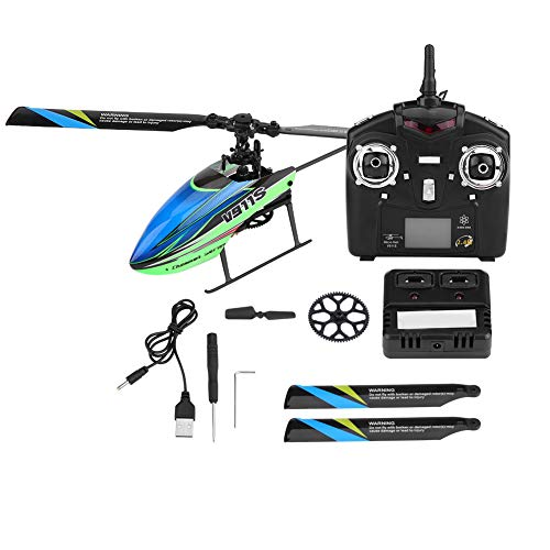 4 Channel 6G Remote Control Helicopter RC Airplane 6-axle Gyro Plane for Children Teens...