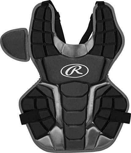 Rawlings Renegade 2.0 Youth NOCSAE Baseball Protective Catcher's Gear Set, Black and Silver, Ages 12 and Under (RCSNY-B/SIL)