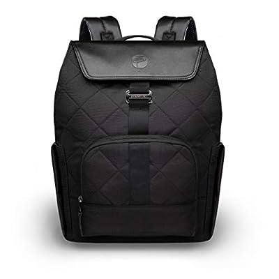 PAPERCLIP Diaper Bag JOJO Black Backpack Changing Pad - Eco Friendly Vegan Leather, Large & Multifunctional - Nappy Bag Diaper Bag Recycled Plastic