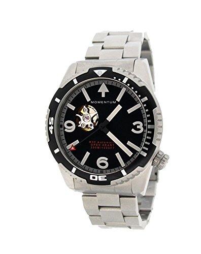 MOMENTUM MH30 Open Heart Automatic, orologio subacqueo da uomo, cinturino...