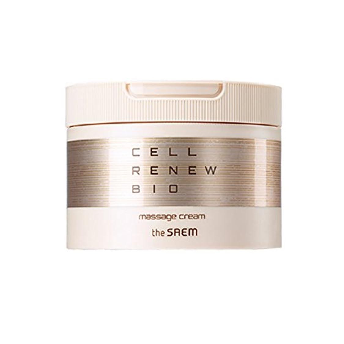 喉頭公平な横[ザセム] The Saem セル リニュー バイオ マッサージ クリーム Cell Renew Bio Massage Cream (海外直送品) [並行輸入品]
